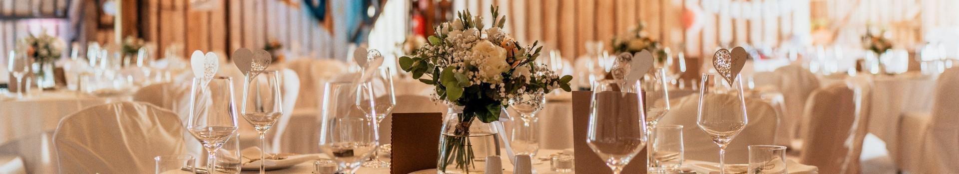 Hochzeitsfeier EVENTSCHEUNE Wallenburg