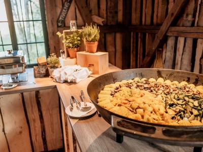 Eventscheune Wallenburg - Ffanne auf Buffet