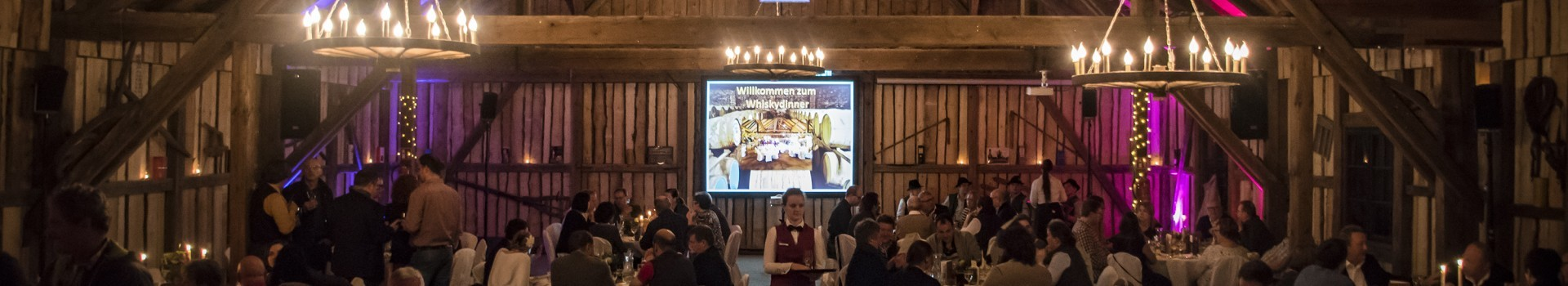 EVENTSCHEUNE Wallenburg Whiskydinner